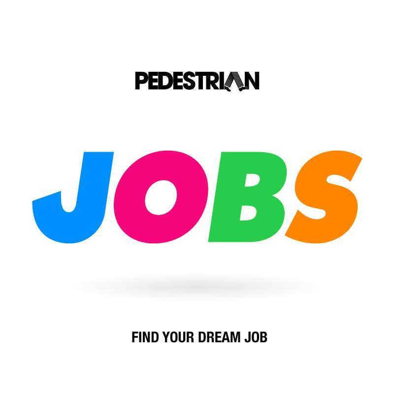 pedestrian jobs logo